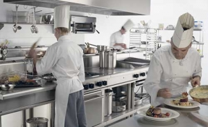 one way supply- commercial kitchen